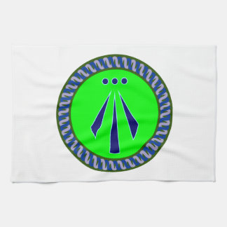 Symbol Druiden druids awen Towels