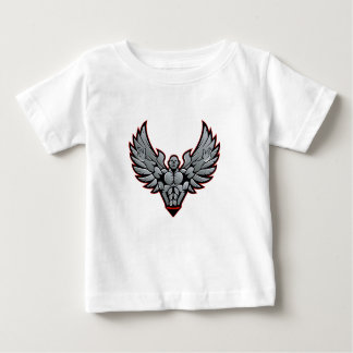 Symbol for gym and fitness baby T-Shirt