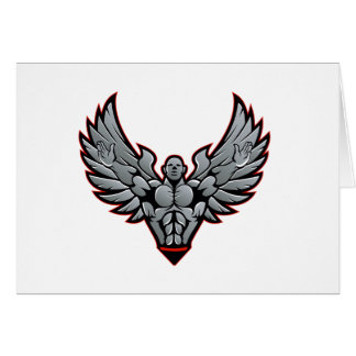 Symbol for gym and fitness card
