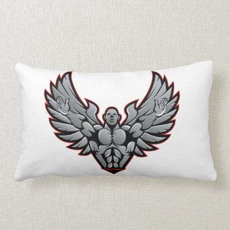 Symbol for gym and fitness lumbar pillow