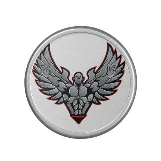 Symbol for gym and fitness speaker