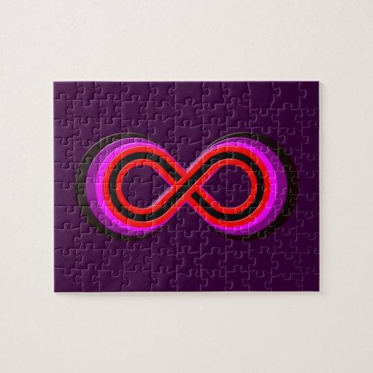 Symbol infinity infinity jigsaw puzzle