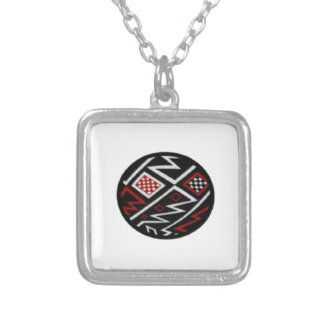 SYMBOL OF EARTH SILVER PLATED NECKLACE