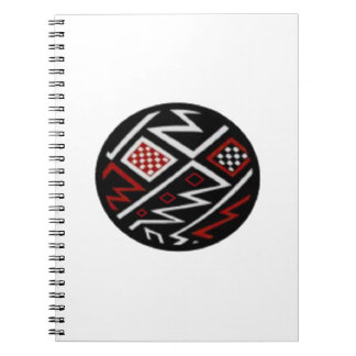 SYMBOL OF EARTH SPIRAL NOTEBOOKS