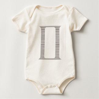 Symbol-Of-Gemini-(White) Baby Bodysuit