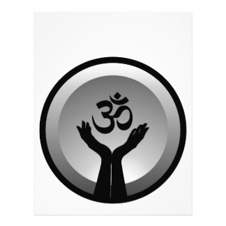 Symbol of Hinduism- om symbol Letterhead