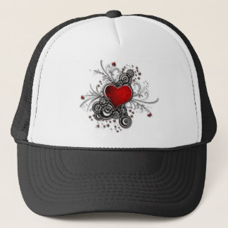 Symbol of love trucker hat