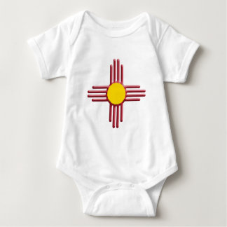 Symbol of the Zia Baby Bodysuit