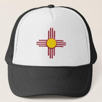 Symbol of the Zia Trucker Hat