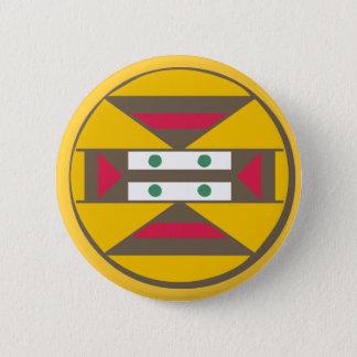 Symbol sign Africa shield africa 2 Inch Round Button