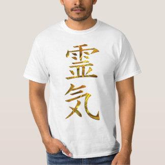 Symbol / Sign REIKI gold + your backgr. T-Shirt