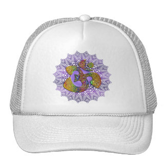 Symbol Universal OM / AUM - Ornament Hat