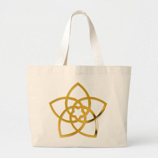 Symbol Venus Flower / GOLD Bag