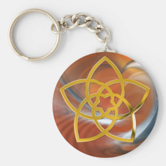 Symbol Venus Flower / GOLD Key Chain