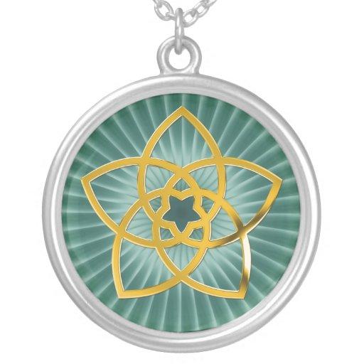 Symbol Venus Flower / GOLD Pendant