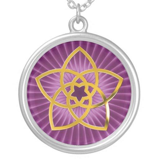 Symbol Venus Flower / GOLD Necklaces
