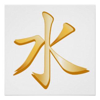 Symbole de confucianisme perfect poster