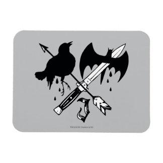 Symbole de joker du peloton | de suicide magnets en rectangle
