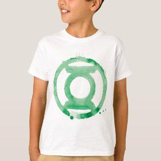Symbole de lanterne de café - vert tshirt