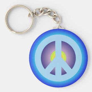 Symbole de paix symbole peace porte-clés