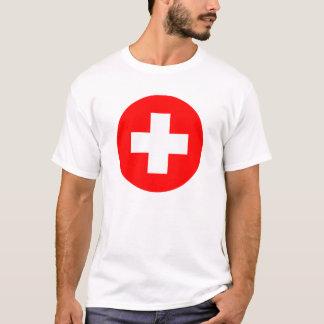 Symbole de premiers secours t-shirt