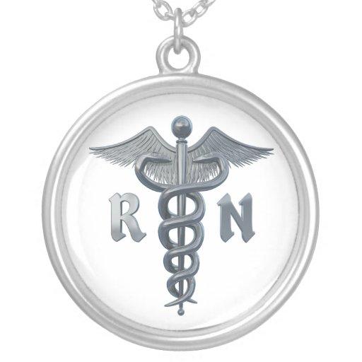 Symbole d'infirmier autorisé pendentifs personnalisés