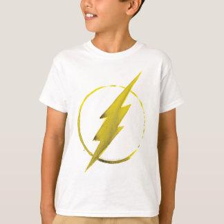 Symbole instantané de café - jaune tee-shirt