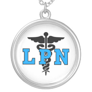 Symbole médical de LPN Pendentif Rond