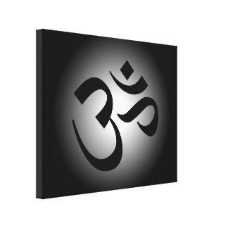 Symbole noir de l'OM Toiles