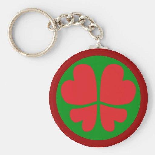 Symbole paix coeur peace hearts porte-clefs