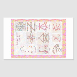 Symbolic ART : Reiki Masters Practice Tools Sticker