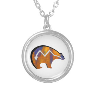 SYMBOLIC OF STRENGTH SILVER PLATED NECKLACE