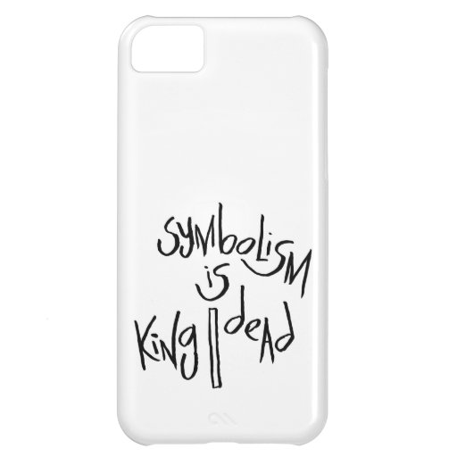 Symbolism Is King/Dead iPhone 5C Cover