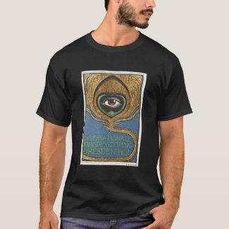 Symbolist Art Nouveau Peacock Feather Eye 1901 T-Shirt