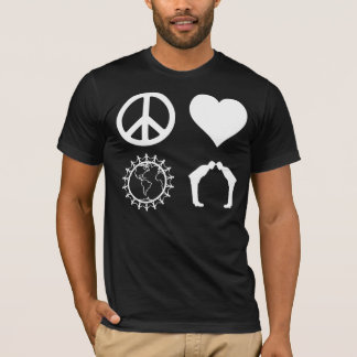 Symbology of PLUR (Dark Shirt) T-Shirt