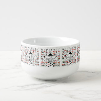 Symbology - the ancient mysteries soup mug