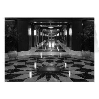 Symmetry / Noir, card