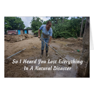 Sympathies by DJT: Natural Disasters Card