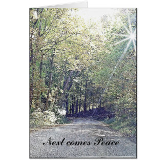 Sympathy and Peace Card