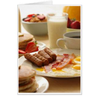 Sympathy - Breakfast Card