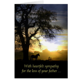 Sympathy Card for Loss of Father / Dad