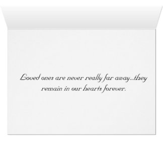 Sympathy card for loss of pet - paw prints