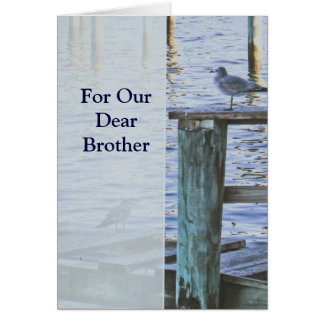"""Sympathy Card -  """"For Our Dear Brother"""""""