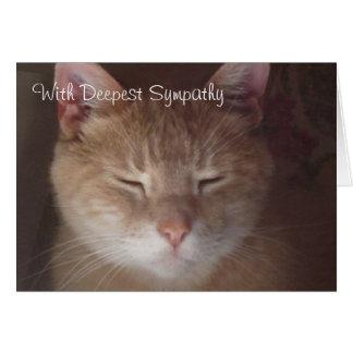 Sympathy Card - greeting card
