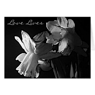 Sympathy Card - Love lives