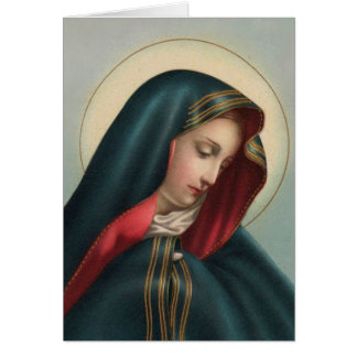 Sympathy Catholic Requiem Mass Offering Card