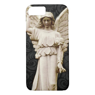 sympathy cemetery memorial Grief Gothic Angel Case-Mate iPhone Case