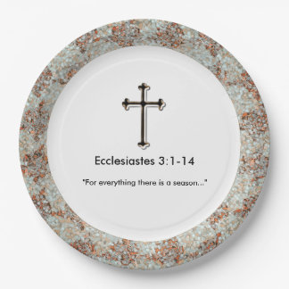 Sympathy-Christian_Template_Grief-Gathering_Unisex Paper Plate