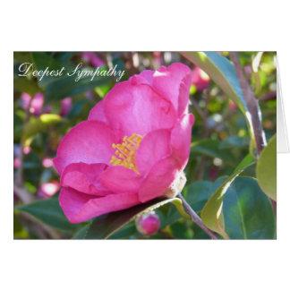 Sympathy Flower Card