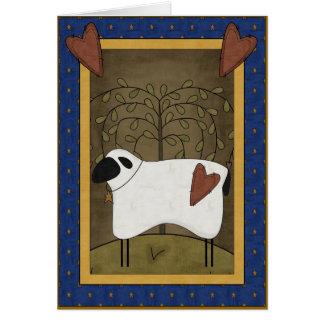 Sympathy Love of Shepherd Card